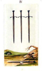 четверка мечей