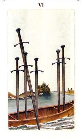 шестерка мечей